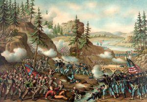 Battle of Orchard Knob, Nov. 24, 1863, Kurz and Allison, 1888