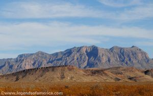 Big Bend Mountains by Kathy Weiser.