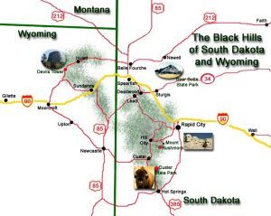 The Black Hills of South Dakota – Legends of America