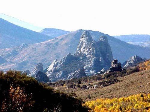 City of Rocks in southern Idaho