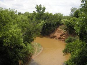Clear Fork Brazos River