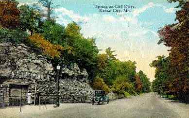 Vintage Cliff Drive, Kansas City, Missouri