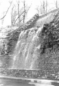 Cliff Drive Water Fall, Kansas City, Missouri