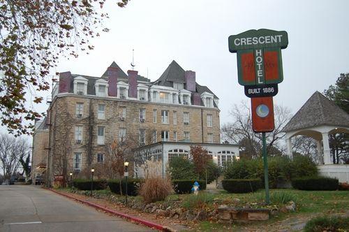 Crescent Hotel Sign