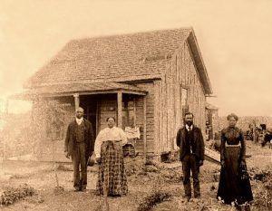 Exodusters in Nicodemus, Kansas.