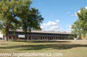 Fort Laramie Barracks