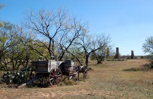 Fort Phantom Hill Wagon