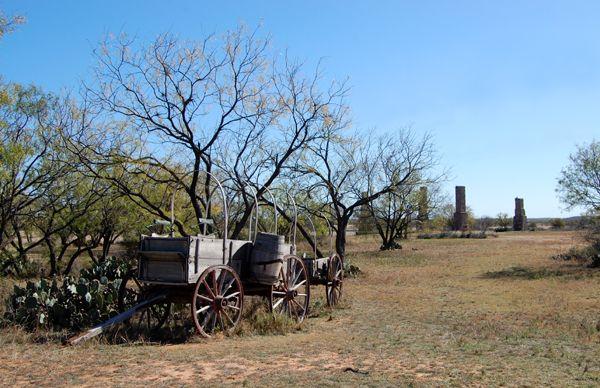 Fort Phantom Hill Wagon