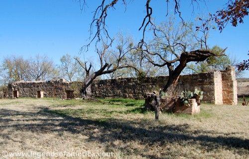 Fort Phantom Commissary-Storehouse, Kathy Weiser, November, 2009.