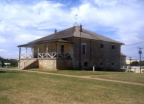 Fort Sill post guardhouse