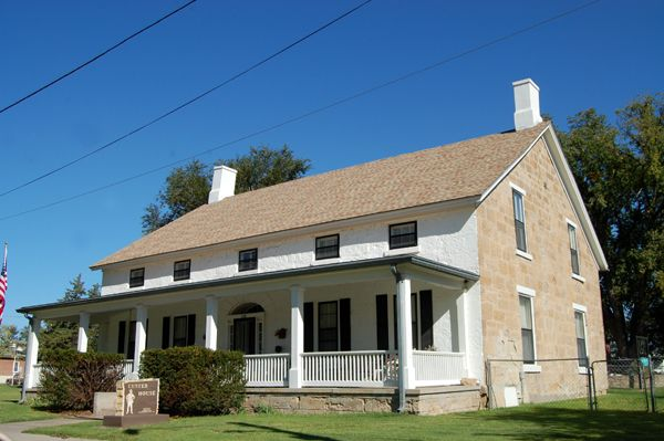 Custer House at Fort Dodge, Kansas