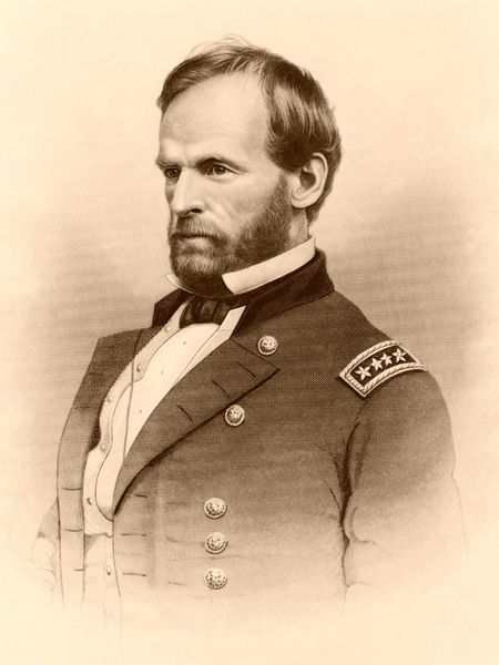 General William T. Sherman, John Chester, 1800s
