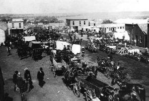 Guthrie, Oklahoma in 1889
