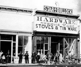 Sol Star and Seth Bullock's Harware Store