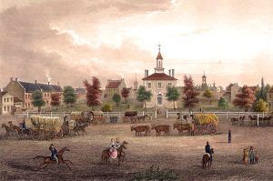 Independence, Missouri Square, 1855