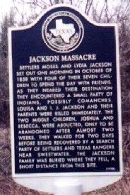 Jackson Massacre historic marker
