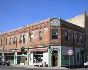 Connor Hotel in Jerome by Kathy Weiser-Alexander.