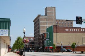 Downtown Joplin today by Kathy Weiser-Alexander.