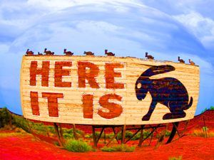 Joseph City, AZ, Here It Is Sign, Carol M. Highsmith, 2006