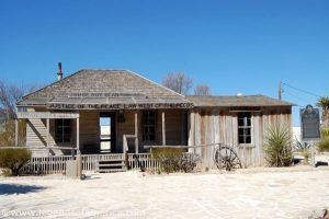 Judge Roy Bean's Jersey Lilly Saloon, in Langtry, Texas by Kathy Weiser-Alexander.