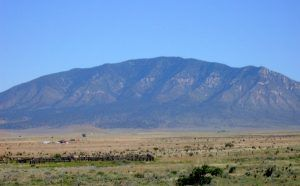 Lincoln County, New Mexico ranchland