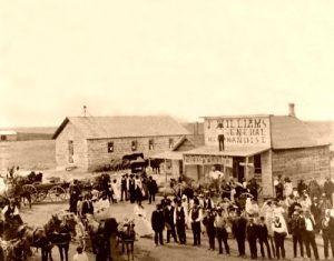 Nicodemus, Kansas, 1885.