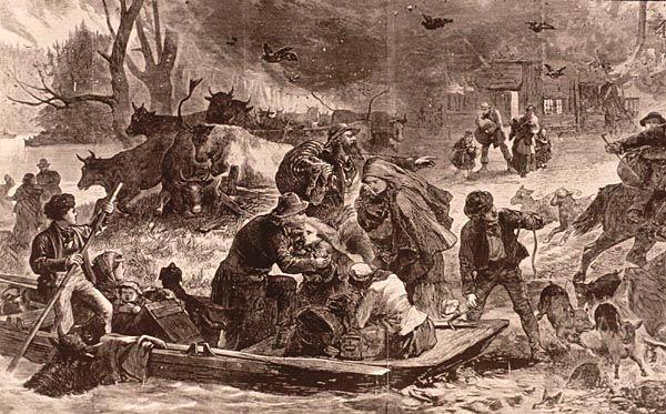 Peshtigo Fire_Harpers Weekly Nov25, 1871