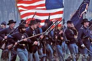 Battle of Prairie Grove, Arkansas