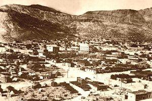 Rhyolite, Nevada and the Bullfrog Hills, 1909.