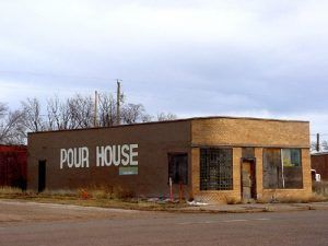 "The ""Pour House"" in San Jon, New Mexico ain't pouring anymore beverages these days."