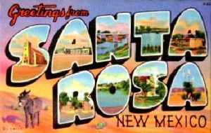 Santa Rosa New Mexico Greetings