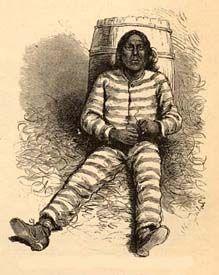 Satanta in prison