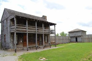 Fort Osage, Sibley, Missouri