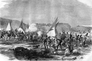 Sioux War, Harpers Weekly, October, 1863
