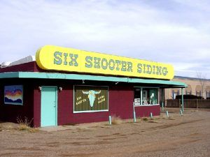 Six Shooter Siding Tavern, Tucumcari, New Mexico