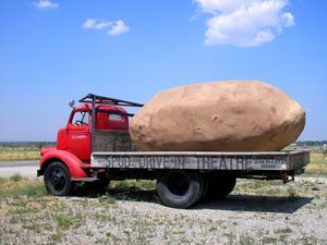 Spud Drive-In Potato in Idaho