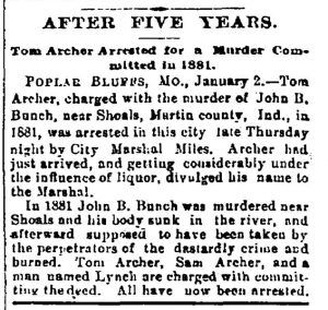 Archers Arrested