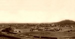 Tucumcari, New Mexico, P. Clinton Bortell, 1913