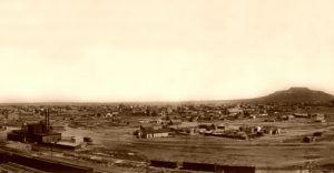 Tucumcari, New Mexico, P. Clinton Bortell, 1913