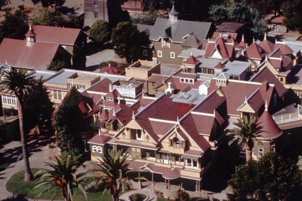 Winchester House Airial