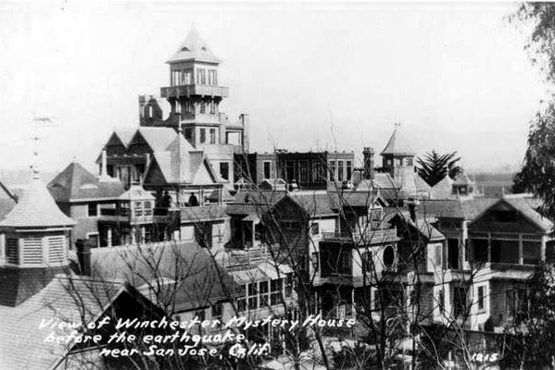 Winchester House prior to 1906 Earthquake