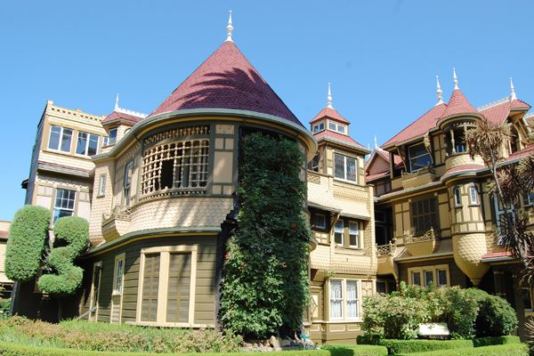 Winchester House Exterior Detail