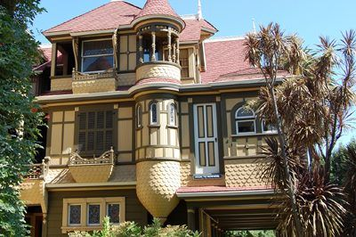 Winchester House Architectural Detail