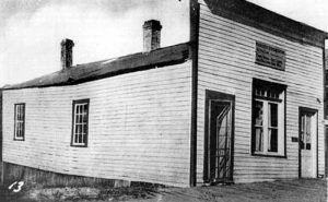Hangman's House in Virginia City, Montana