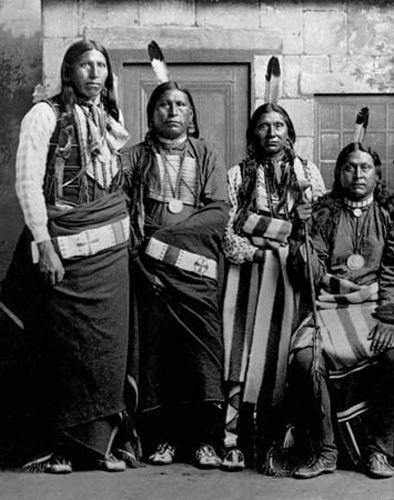 Pawnee women