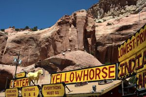 Trading Posts in Lupton, Arizona by Jim Hinkley.