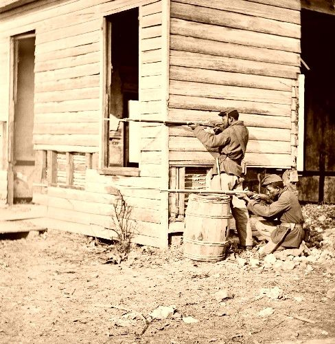 African American soldiers in the Civil War