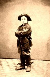 Boy Soldier in the Civil War