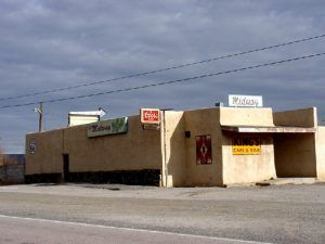 Closed Cafe in Budville, New Mexico