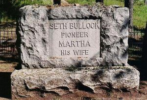 Bullock Grave, Deadwood, South Dakota.